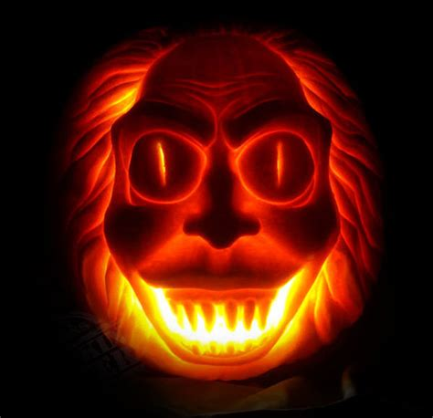 scary pumpkin carving 20 most scary pumpkin carving ideas designs for 2016