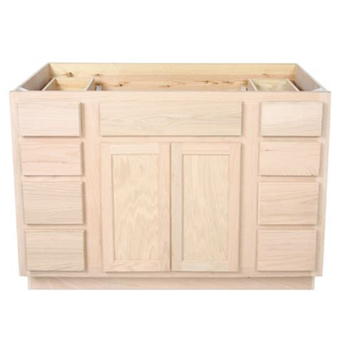 48 sink base cabinet bathroom vanity sink base 42unfinished oak vanities