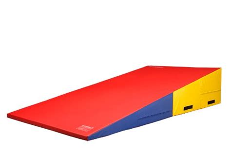 gymnastics wedge mat used we sell mats gymnastics folding and non folding incline