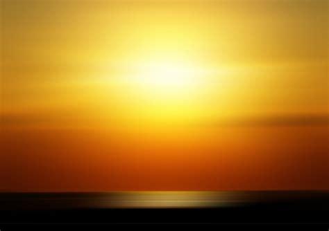 Sun Background Free Illustration Sunset Sun Orange Background Free