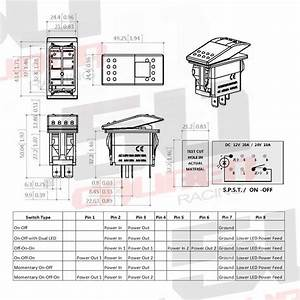 68c8c Marine Rocker Switch Wiring Diagram Backlit Utv
