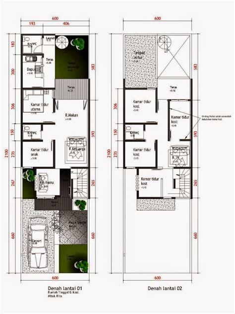 modelrumahminimalisdot rumah minimalis ukuran