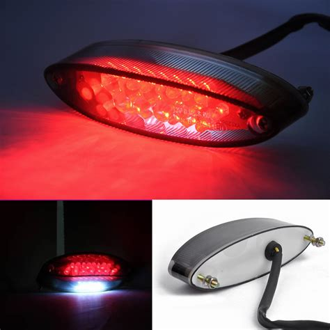 motorcycle 28 led brake stop light atv dual sport