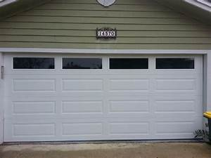 amarr long panel garage door with solid windows gives this With 9x8 insulated garage door with windows