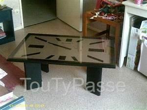 Table Basse Horloge : table basse de salon horloge pont vendin 62880 ~ Teatrodelosmanantiales.com Idées de Décoration