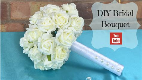 Diy Bridal Bouquet How To Create Your Own Bridal Wedding
