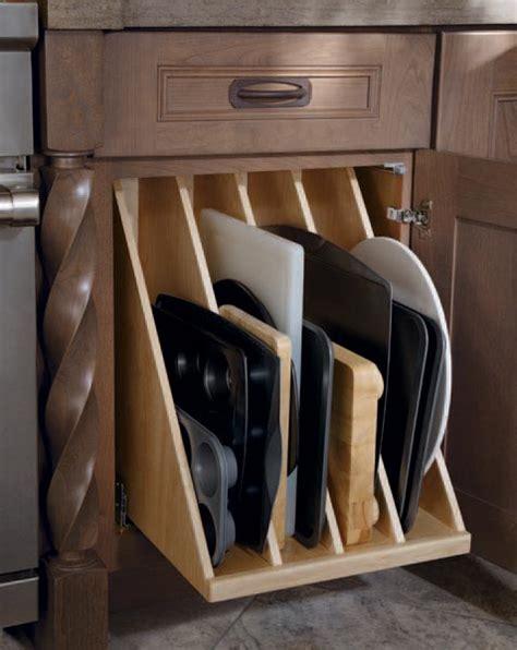 kitchen cabinet cookie sheet organizer cookie sheet storage 7756