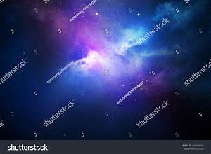 Night Sky Stars Nebula Stock Illustration 358488455 ...