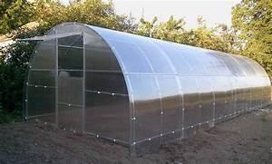 Serre En Polycarbonate Ou En Verre : serre tunnel de jardinage potager en polycarbonate 3x4 ~ Premium-room.com Idées de Décoration