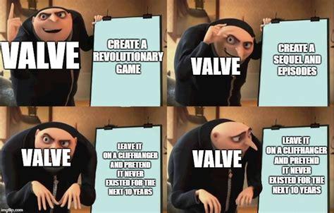 gru plan meme template valve s plan for half imgflip