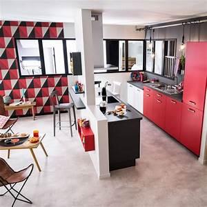 Bar Cuisine Ouverte : cuisine ouverte bar sur salon cuisine en image ~ Melissatoandfro.com Idées de Décoration