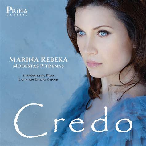 Prima Classic Announces Marina Rebeka's 'Credo' - Opera Wire