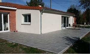 carrelage exterieur et dalle piscine carrelage en ligne With prix sous sol maison 8 prix m2 du beton cire
