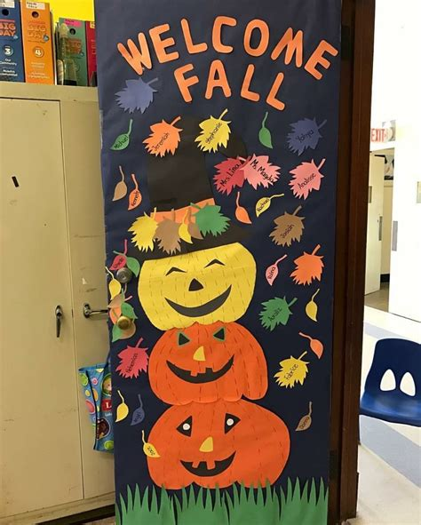 fall door 2016 ideas for decorates doors fall 198 | 4d54287ba429e38570c7faec4b155933 fall door doors