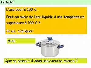Pression De L Eau : ebullition de l 39 eau temp rature et pression ~ Dailycaller-alerts.com Idées de Décoration
