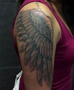 Shoulder Wings Tattoo