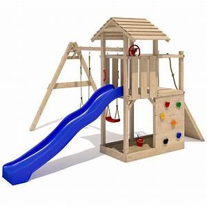 Tour A Bois Accessoires : empire ii tour de jeu en bois escalade toboggan 2 ~ Premium-room.com Idées de Décoration