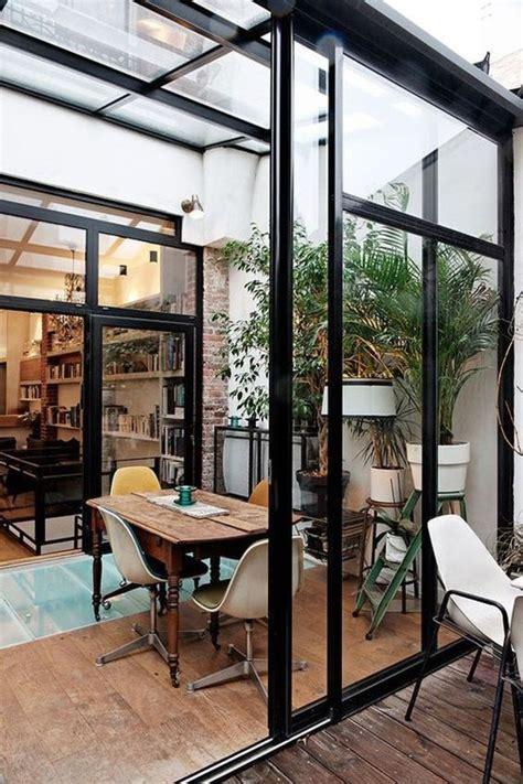 veranda amenager sa salle  manger dans cette extension