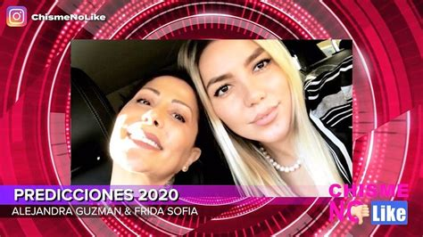 Chisme No Like - ALEJANDRA GUZMÁN Y FRIDA SOFÍA SE ...
