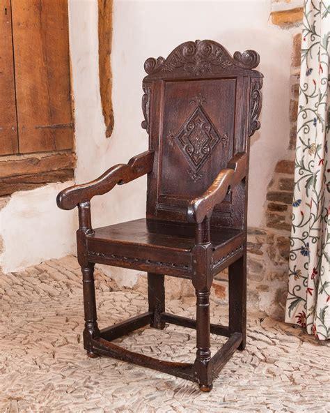 century yorkshire joined oak armchair circa