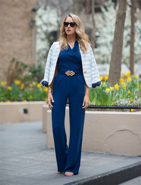 jumpsuit with blazer how to style your suits and coats glam radar