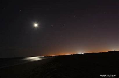 Moon Beach Triangle Stars Animation Martian Am