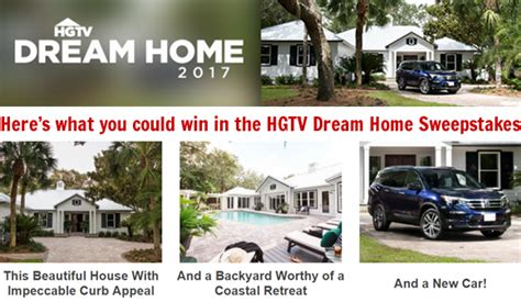 hgtv dream home  giveaway sweepstakes  ppd