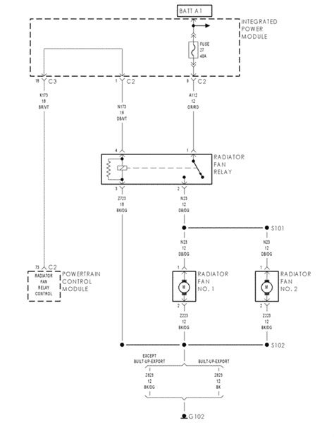 Chrysler Voyager 2002 Wiring Diagram by My 2002 Chrysler Voyager Had The Negative Battery Cable