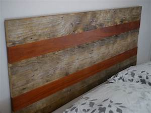 Hand Crafted Queen Size Rustic Headboard With Reclaimed