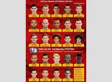Manchester United's Adnan Januzaj in Belgium World Cup squad
