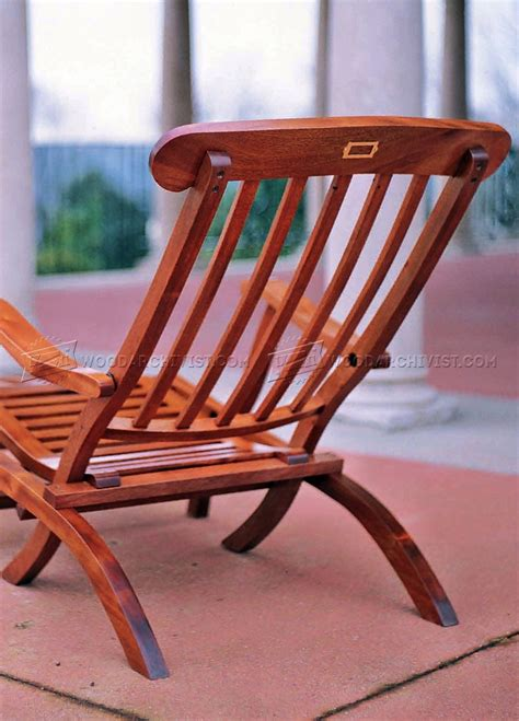 Titanic Deck Chair Plans by Titanic Deck Chair Plans Woodarchivist