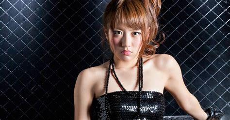 minami takahashi japanese sexy idol sexy black leather