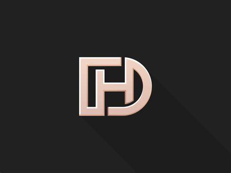 dh monogram  mohamed achraf  dribbble