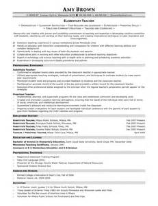 resume format for experienced maths teachers high school math resume sles of resumes
