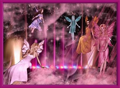 Fairy Pink Wallpapers Fairies Girly Background Abstract