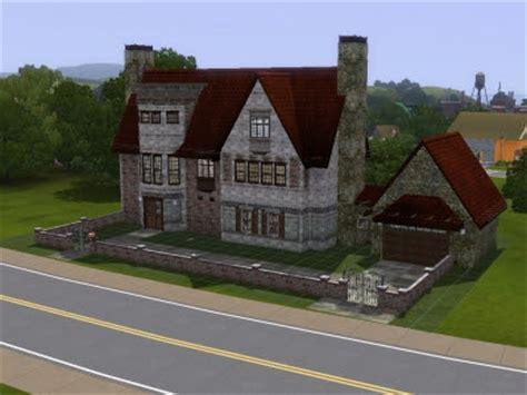 sims  blog traditional english tudor house  iskander