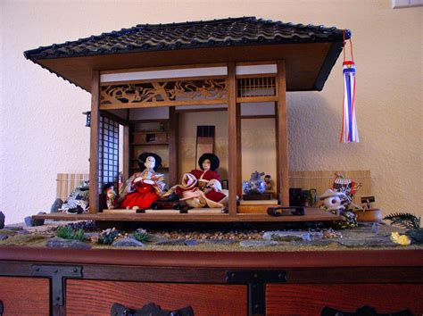 darlene guerry japanese tea house kit  miniatures