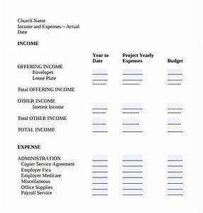 Sample Checklist Form Free 13 Chruch Budget Templates In Ms Word Pdf Excel