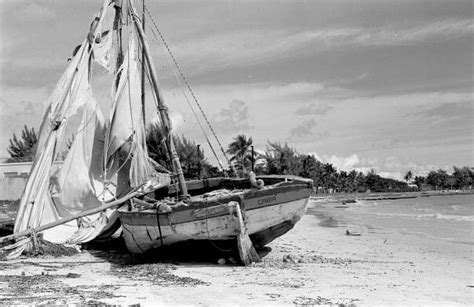 Old Boat Washed Up by Florida Memory Haitian Refugee Boat Washed Up On Shore