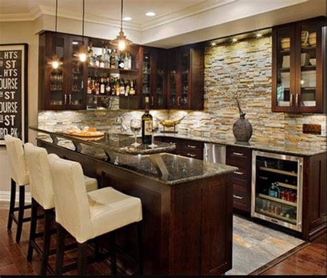 using wall cabinets for bar wet bar using ikea cabinets