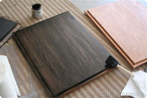 Alreadystained Wood Can Be Further Stained A Darker Shade