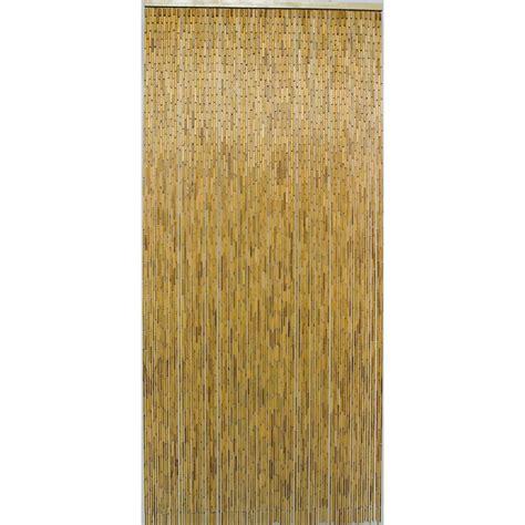 rideau de porte bambou naturel 90 x 200 cm rideau de fils et porti 232 re rideau voilage