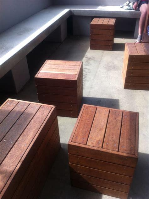 cube seats garden accessories supplies