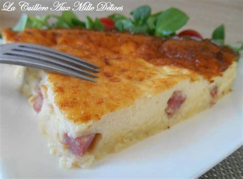 quiche facile sans pate quiche sans p 226 te jambon fromage recette ptitchef