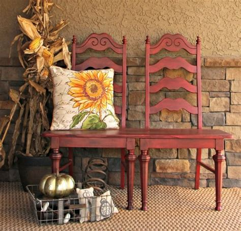 bench    repurposed chairs recibidor
