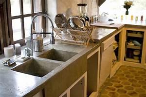 bricoleur pas grand menuisier plan de travail cuisine With enduit interieur beton cellulaire