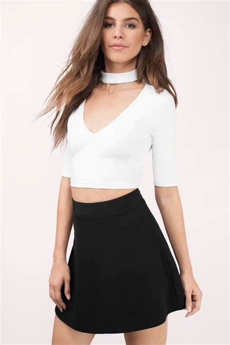 crop blouse white crop top pictures to pin on pinsdaddy