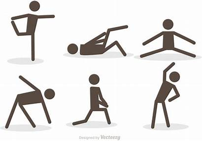 Stick Workout Icons Clipart Icon Pack Vecteezy