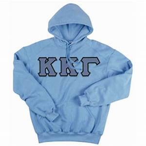 kappa kappa gamma tackle twilled greek letter hooded With kappa kappa gamma stitched letters