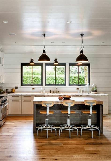 cuisine avec ilot central plaque de cuisson la cuisine équipée avec îlot central 66 idées en photos